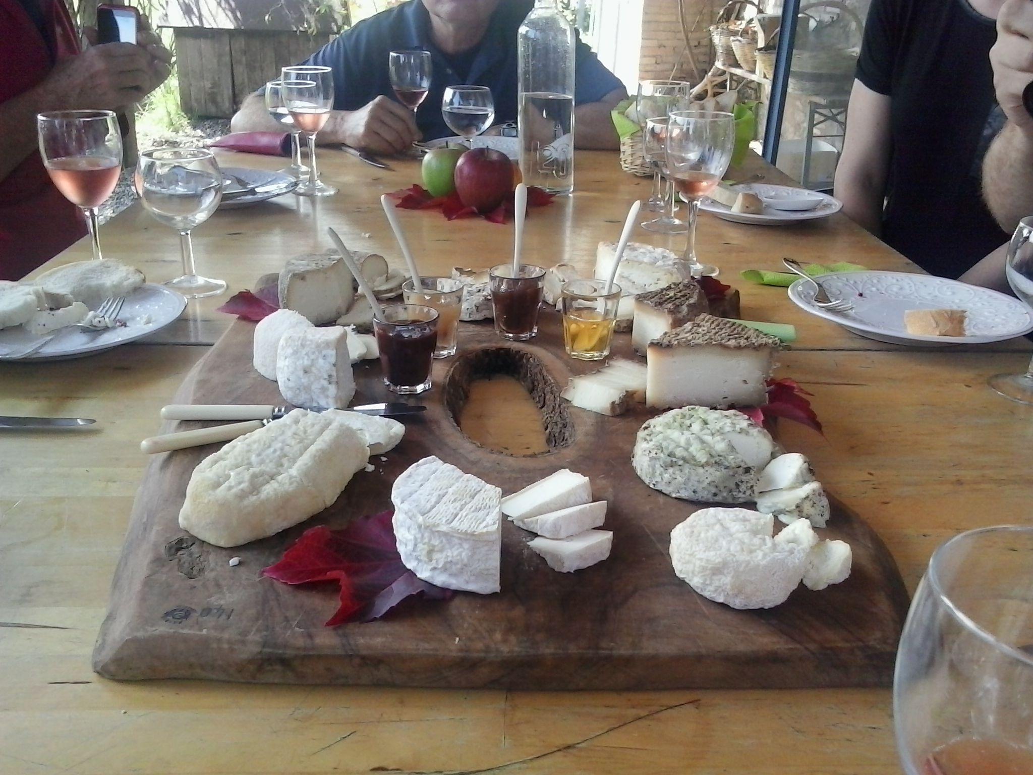 Assaggi formaggi capra tipici