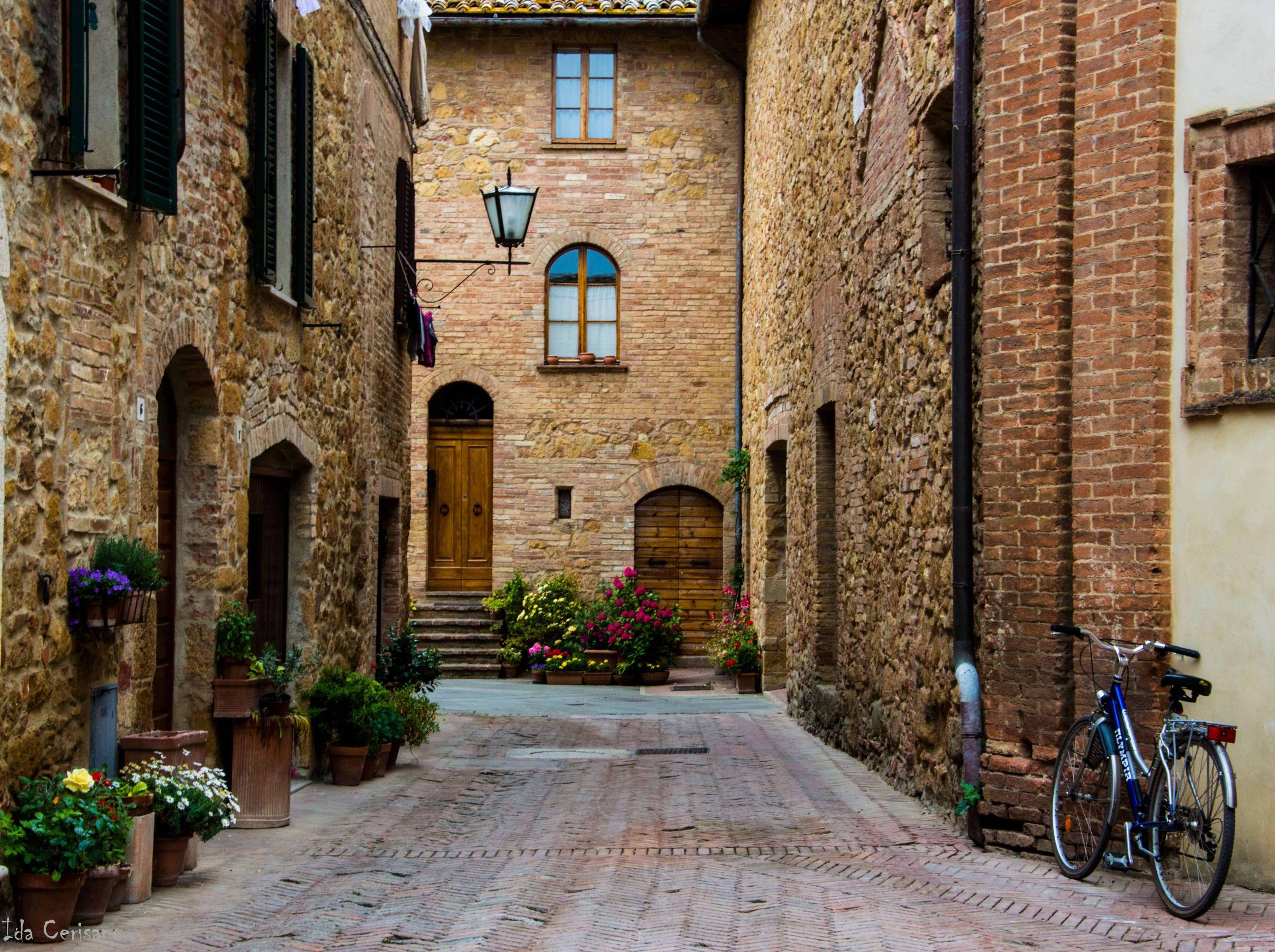 Streets of Pienza